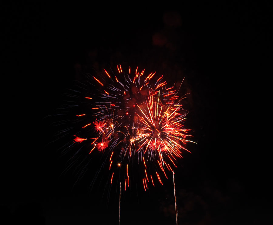 The Inlet Online | Fireworks | Canada Day | Bayfront Park | Canada's 150th