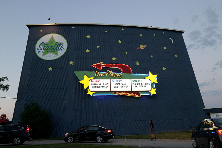 Starlite Drive In, the Inlet Online