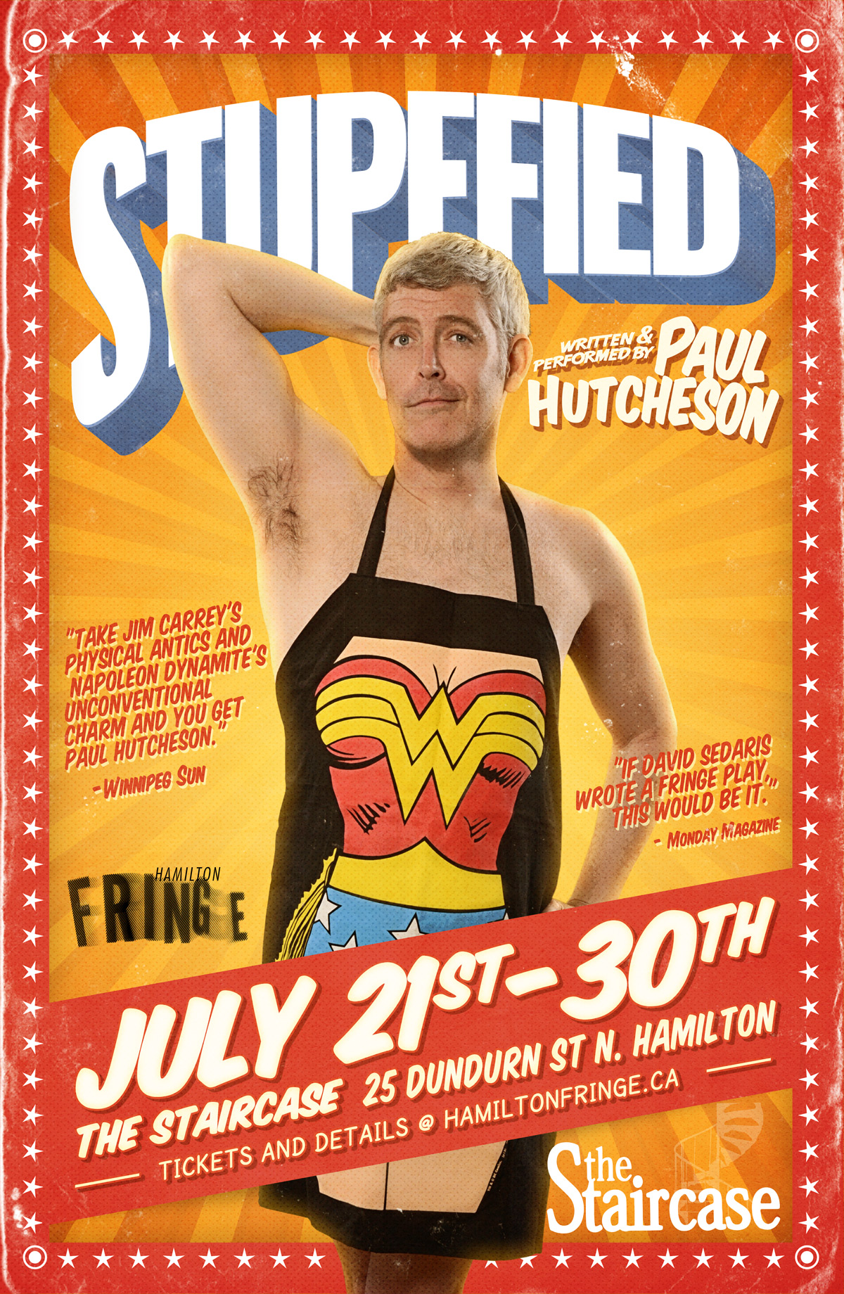 The Inlet Online, Stupefied, Paul Hutcheson, Hamilton Fringe 2017, Top picks