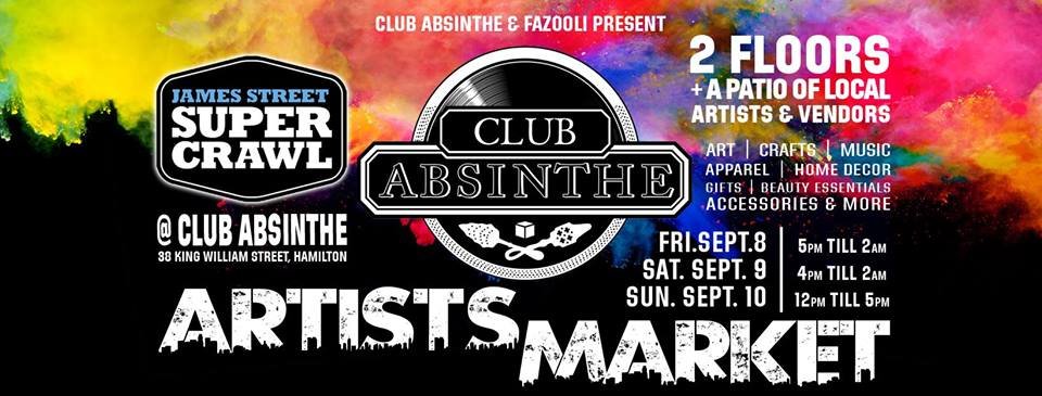 Club Absinthe Supercrawl 2017