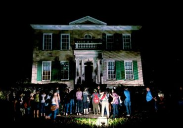 Whitehern during Haunted Hamilton ghost tour