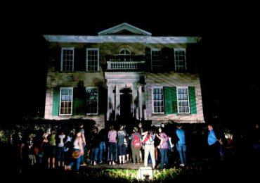 Whitehern during Haunted Hamilton ghost tour