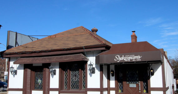 Shakespeare's steak and seafood restaurant
