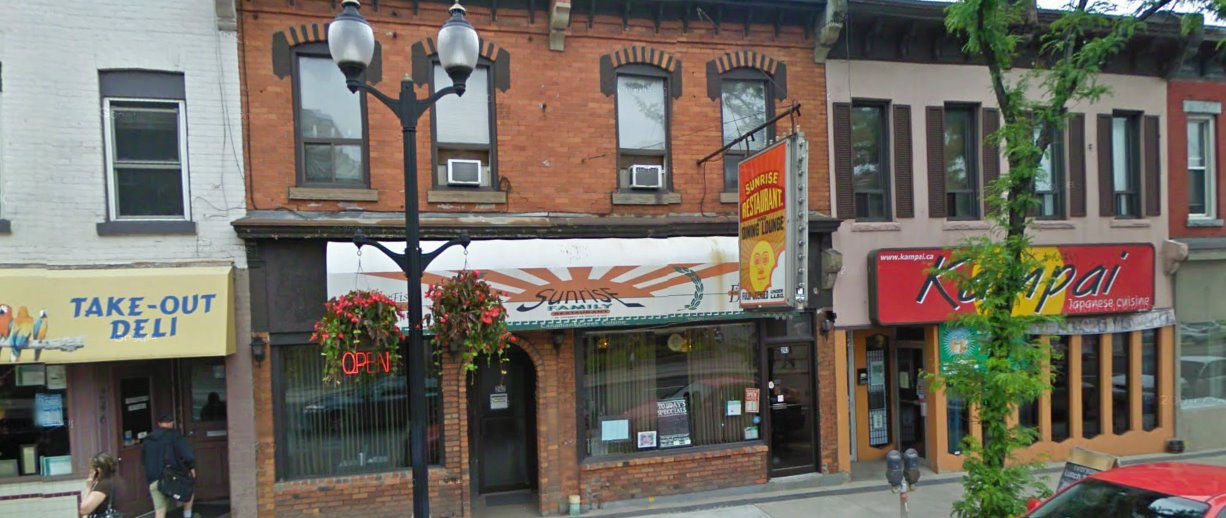 Sunrise Restaurant to Noodles One | Hamilton Ontario The Inlet Online Hamilton News