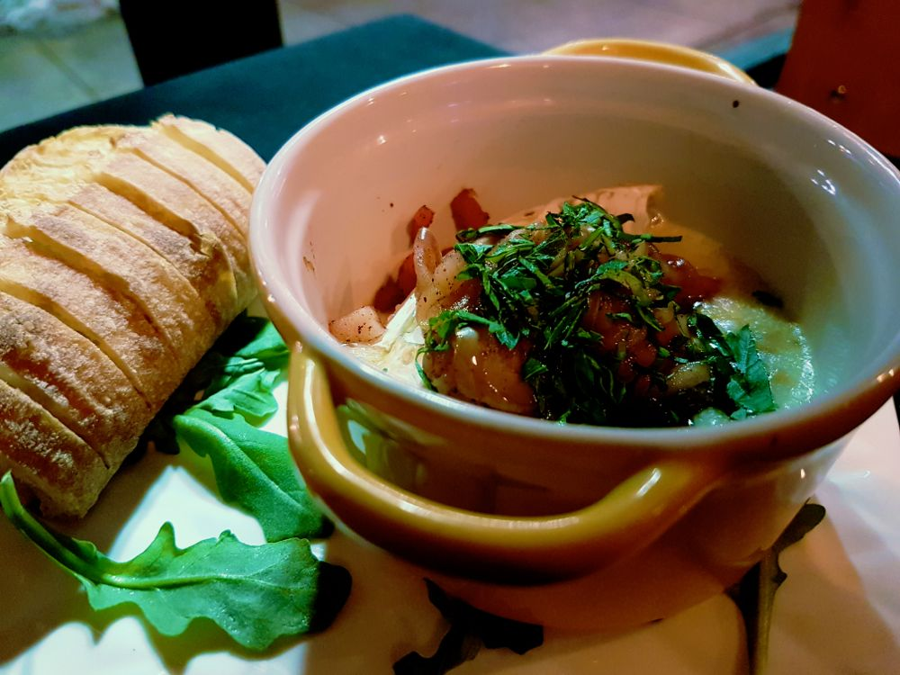 Baked Brie at Zyla's Music + Menu