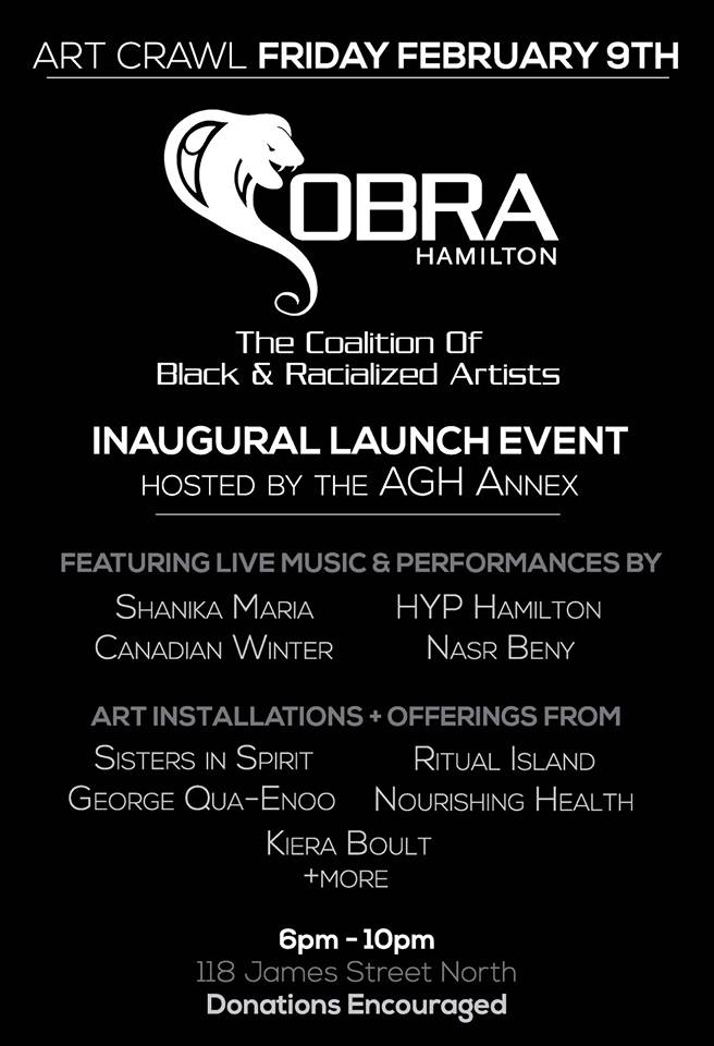 COBRA – The Coalition of Black & Racialized Artists