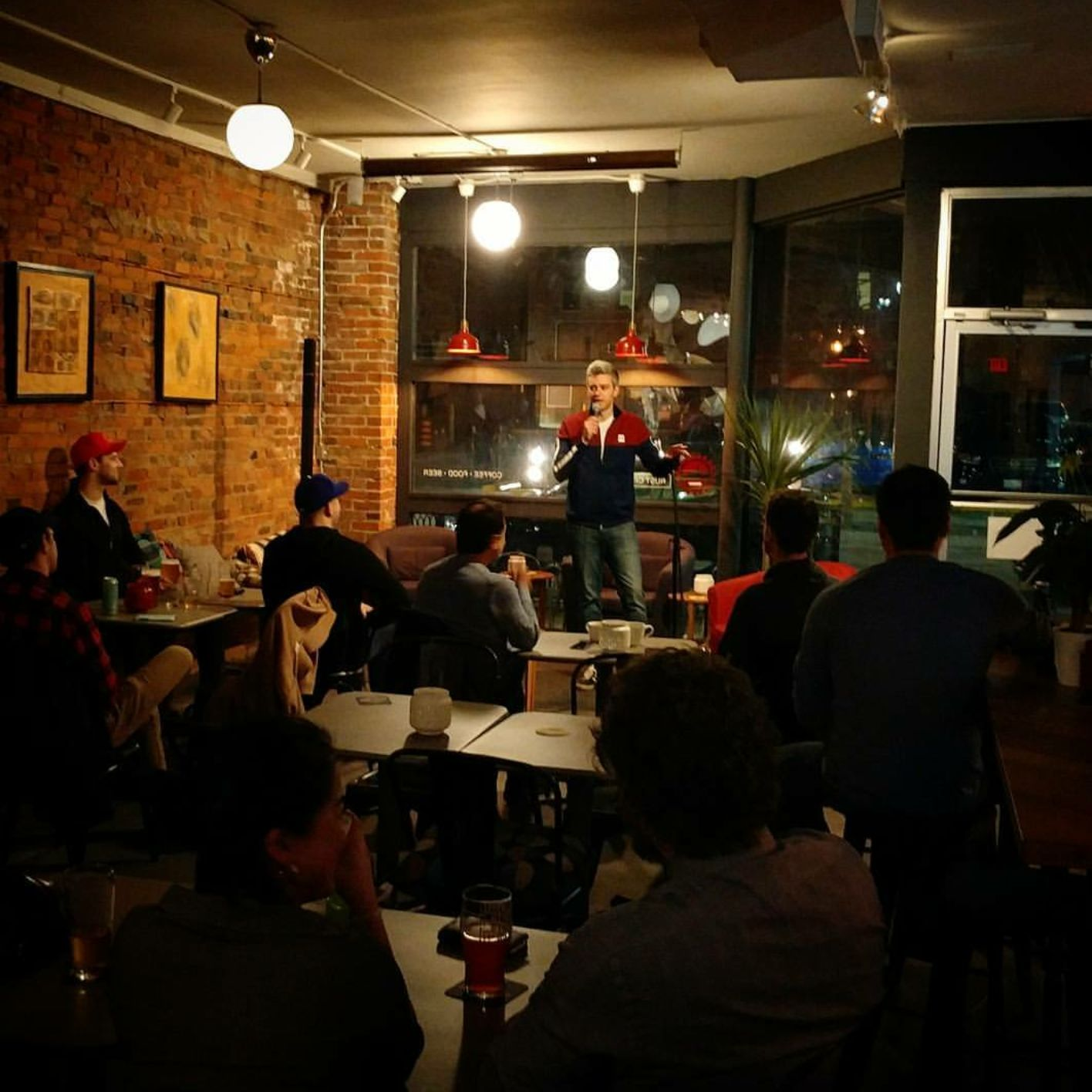 Mark Debonis performing at Rust City. Photo courtesy of James Butler.