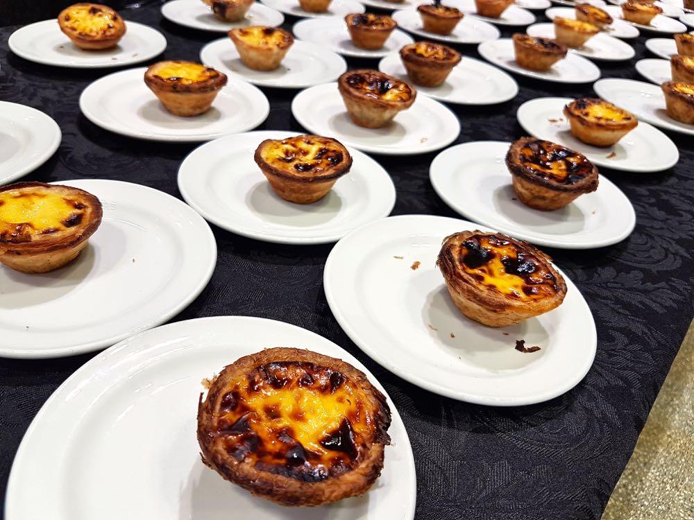 Custard tarts from Ola Bakery & Pastry