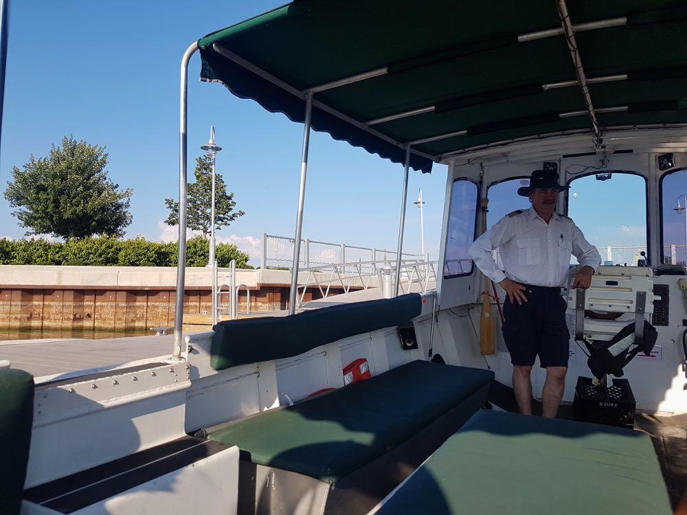 Hamilton Tour Boat