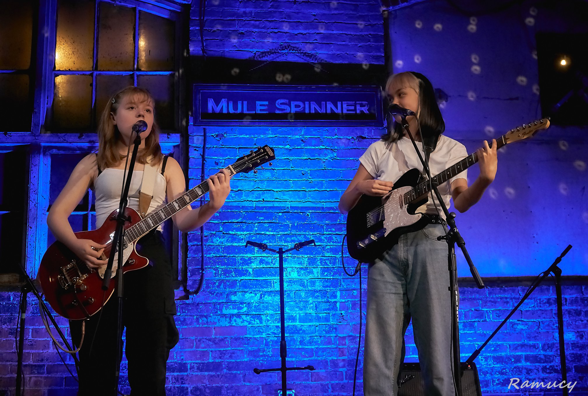 Moscow Apartment performing at The Mule Spinner. Photo by Don Gleeson.