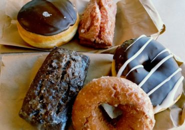 Assortment of donuts from Grandad's Donuts